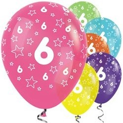 "Ballons latex 12"" 6ans paquet de 25"