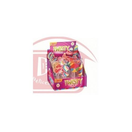 24 Sucettes Twisty Pop