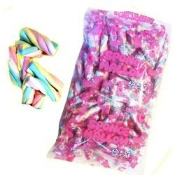 110 Marshmallows Torsadés emballage individuel