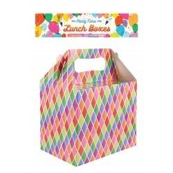 Boxe friandise multicolore