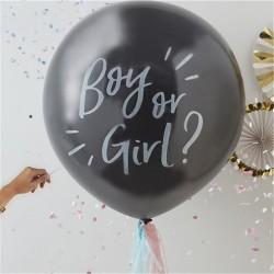 """Ballon KIT Révèle sexe bébé 36"""" ou 91 cm"""