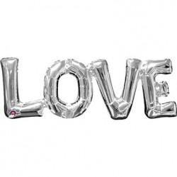 """Ballon Alu Love 34"""" ou 86cm"""