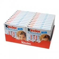 Boîte de 20 Kinder chocolat x4 tablettes