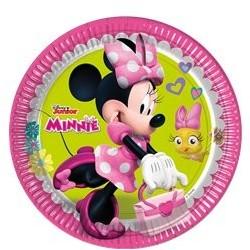 Assiettes Minnie Soft-pour 8 personnes