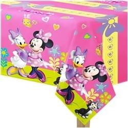 Nappe en plastique Minnie Soft-pour 8 personnes