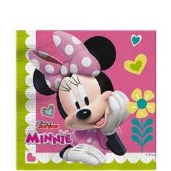 Serviettes Minnie Soft- x20