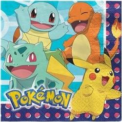 Serviettes Pokémon 33 cm