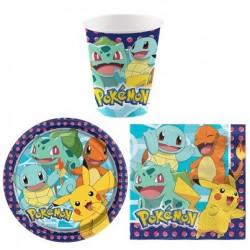 Kit Pokémon  Soft-pour 8 personnes