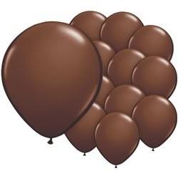 """100 Ballons  chocolat  5"""" (12 cm)"""