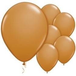 """100 Ballons marron moka 11"""" (28 cm)"""