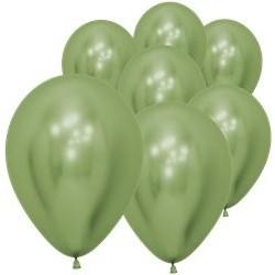 """50 Ballons vert lime  5"""" (12 cm)"""