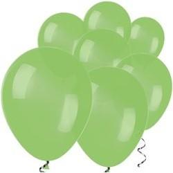 """100 Ballons vert lime 5"""" (12 cm)"""