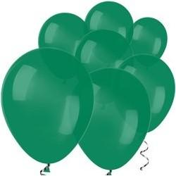 "100 Ballons vert forêt 5"" (12 cm)"