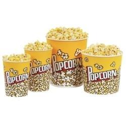 50 Goblets pop corn 72 cl