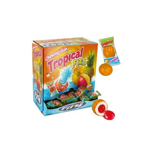 Bubble gum Tropical  x 200PCS