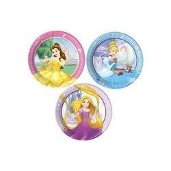 Assiette en carton 23 cm Princesses Disney