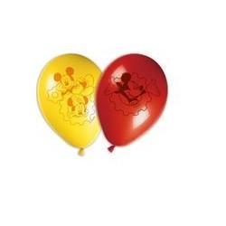 6 Ballons à gonfler Mickey