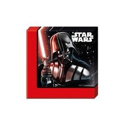Serviette 2 plis 33x33 cm  Star Wars