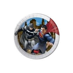 Assiette en carton 23 cm Batman Vs Superman
