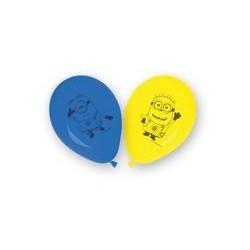 6 Ballons à gonfler Minions