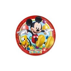 Assiette en carton 23 cm Mickey