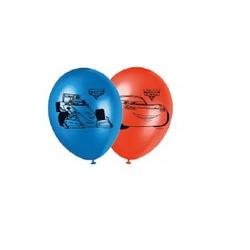 6 Ballons à gonfler Cars