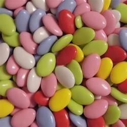Dragées chocolat multicolore 1kg