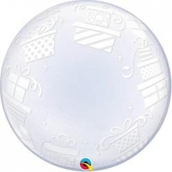 "Ballon Bubble cadeau 24"" (61cm)"