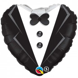 """Ballon Alu - smoking de mariage 18 """"(45 cm)"""