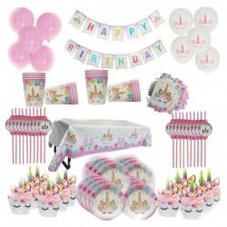 KIT anniversaire Licorne - 16 personnes