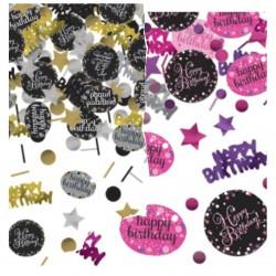 Confettis de table happy birthday pétillant 34g