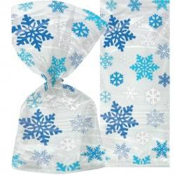 20 Sachets flocon de neige 30 cm