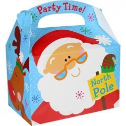 Boîte Party time Noël12cm x 10cm x 15cm