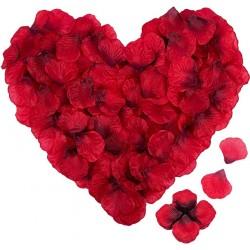 Pétales de roses artificiels
