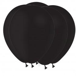 """BALLONS LATEX 11"""" ( 28cm ) STANDARD NOIR"""