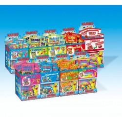 9 boîtes de 30 minis sachets de Haribo + 3 gratuites