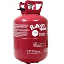 """Hélium 0,25 m3 pour 30 ballons standard 9""""(23 cm)"""