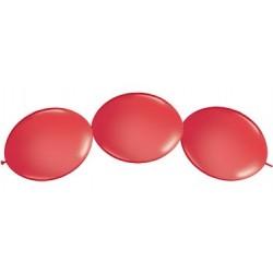 """Ballon à lien rapide-Rouge 12 (50 pièces)"""""""