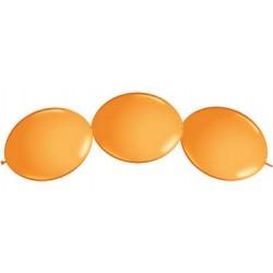 """Ballon à lien rapide-Orange 12 (50 pièces)"""""""