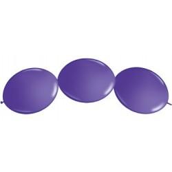 """Ballon à lien rapide-Violet 12 (50 pièces)"""""""