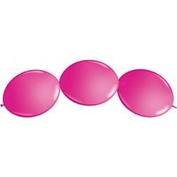 """Ballon à lien rapide-Fushia 12 (50 pièces)"""""""