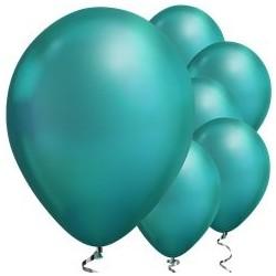 Ballon Chrome Vert 28cm