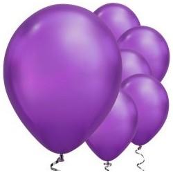 Ballon Chrome Mauve 28cm