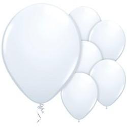 "100 Ballons Blanc 11""- 28 cm"